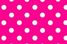 Pattern With Circles.., Pattern With Circles, Seamless Background With Circles, Seamless Background With Circles,  Hot Pink Background