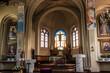 Leinwandbild Motiv Kalety, Poland May 13, 2021: Interior of the parish church of St. Joseph in Kalety Jedrysek in the Diocese of Gliwice.