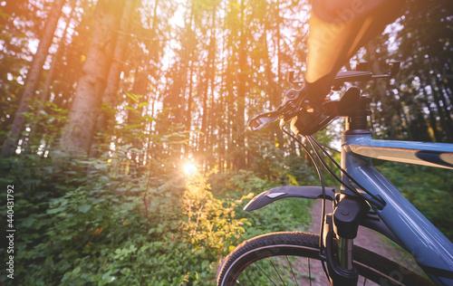 Fototapeta Bicycle leasure activity theme