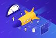 Leinwandbild Motiv Website Optimization - Core Web Vitals Concept