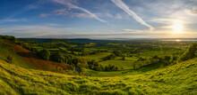 Panorama Of Coaley Peak, Glocestershire