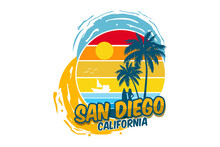 San Diego California Design Beautiful Beach