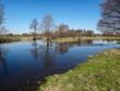 Rzeka wkra wiosna lato