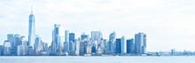 Panoramic View From Manhattan, New York, United States Of America