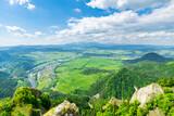 Fototapeta Na sufit - Widok z Trzech Koron na Sromowce i Tatry