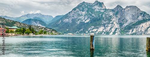 Fotografia Scenic view over Lake Como from Varenna town, Italy