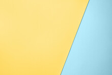 Blue And Yellow Color Paper For Background