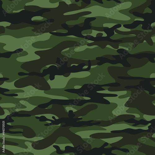 Murais de parede Abstract camouflage on a dark background