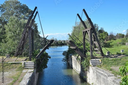 Obraz na plátně Le pont de Langlois, dit Pont Van Gogh, Arles, France