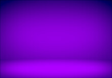 Abstract Purple Gradient Studio Room Background.displays For Present Product.