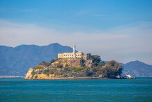 Alcatraz Island In San Francisco In USA