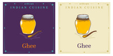 Ghee Or Ghi Clarified Butter Used In Cuisine Of India And The Middle East