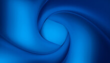 Abstract Image Of A Blue Vortex.