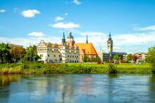 Stadtschloss, Dessau, Sachsen-Anhalt, Deutschland