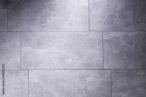Fotografia Stone or marble surface background of tile floor or wall texture