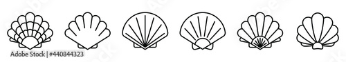 Fotografia Sea shell icon
