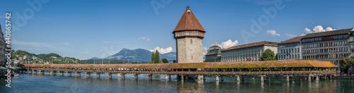 Fotografie, Obraz Lucerne panorama