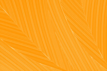 Vibrant 2D Illustration Of Bright Gold Streaks On A Warm Yellow-orange Background Resembling Leaves