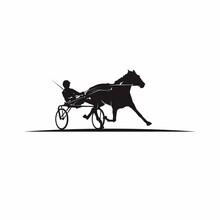 Sulky Horse Racing Logo