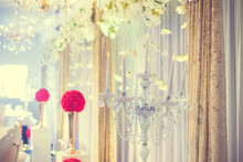 Indian Wedding Reception Hall Interiors And Decorations