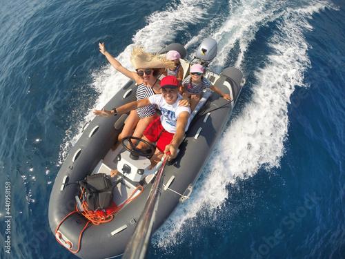 vacation at sea Fototapeta