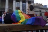 Fototapeta Rainbow - Tęczowa flaga Parda Równości
