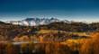 Panorama na Tatry