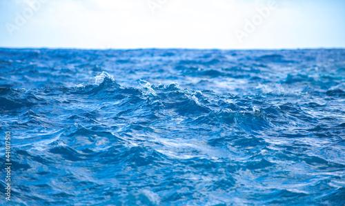 Obraz na plátně Tropical blue ocean in Hawaii