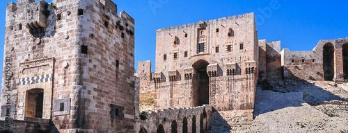 Fotografie, Obraz Aleppo citadel