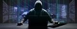 Fototapeta Dmuchawce - Hacker - Cyber Kriminalität