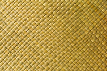 Yellow Woven Background