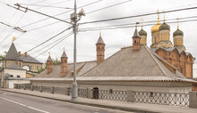Church Of St. George In Moscow On Varvarka