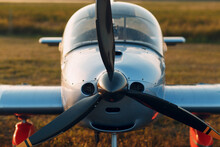 Close-up Of Airplane