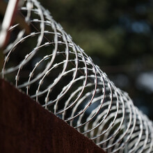 Close-up Of Barbwire