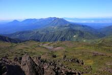 Mt.Tomuraushi 晴天下のトムラウシ山