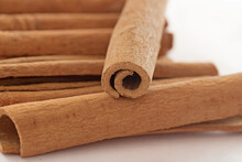 Close-up Of Cinammon Sticks