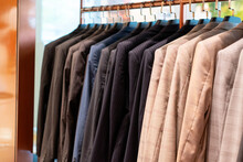 View Of Coat Hang On Store