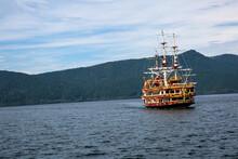 Passenger Pirate Ship In Hakone Japan