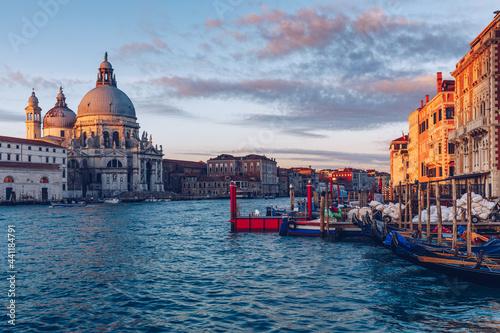 Murais de parede Santa Maria della Salute at Sunrise in Venice, Italy