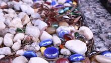 Full Frame Shot Of Colorful Stones