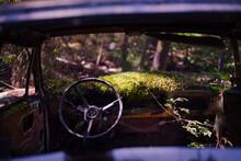 Photo Of Abandoned Vintage Car