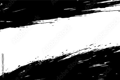 Obraz na plátně Vector of ink splashes.