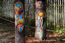 Totem Pole In The Park.