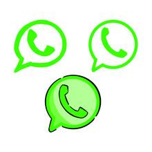 Logo Whatsapp Vector Illustration