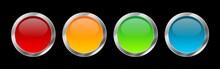 Blank Button Vector Collection