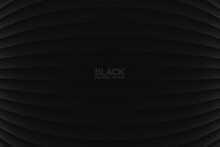 Convex Lines Blank Black Abstract Geometric Background