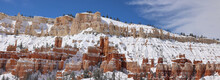 Snow Covered Mountains, Bryce Canyon