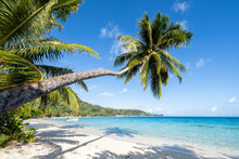 Matira Beach On Bora Bora, French Polynesia