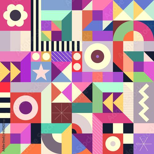 Tapety Retro  streszczenie-geometryczne-bezszwowe-tlo