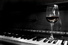 Red Wine And Piano